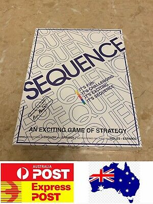 Excellent Family Board Game, Sequence, AU Stock, Quick Delivery