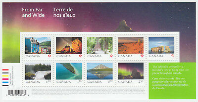 Canada - #3056 From Far And Wide Souvenir Sheet - 2018 -MNH