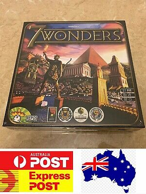 7Wonders Board Game, Internationa Awards Winner Game, AU Stock, Quick Delivery