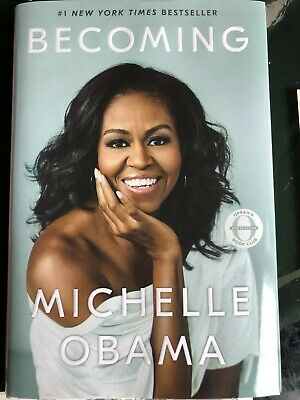 Becoming by Michelle Obama - Signed Copy—Certificate Of Authenticity