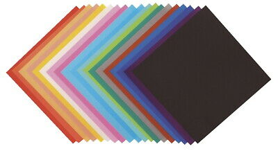 Yasutomo Fold-Ems Origami Paper, 5-7/8 x 5-7/8 Inches, Assorted Colors, 100