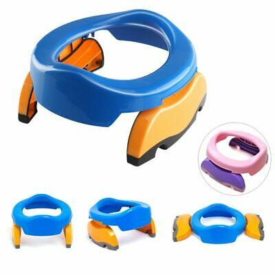 Potty Ring Travel With Urine Bags Portable Folding For Baby Toilet Training Seat