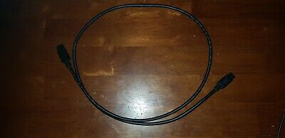 FW 800 Cable. 1M. Black. Good Condition