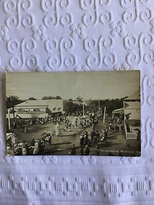 1915 Real Photo Postcard Hospital Carnival Procession Roma Queensland