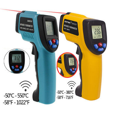 Handheld Digital Laser Thermometer Temperature Non-Contact IR Infrared Gun TR