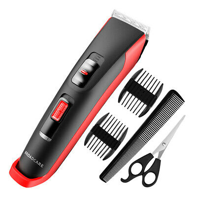 Electric USB Mens Hair Clippers Trimmer Haircut Grooming Set Boys Corded Home