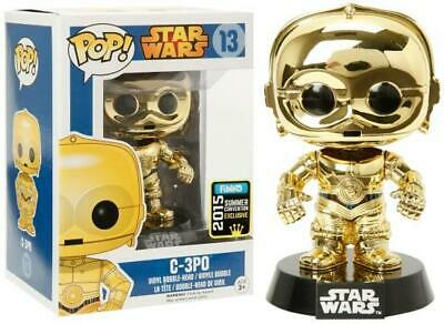 Funko POP! Disney Star Wars Gold C-3P0 #13 Comic Con 2015 SDCC Exclusive Vinyl