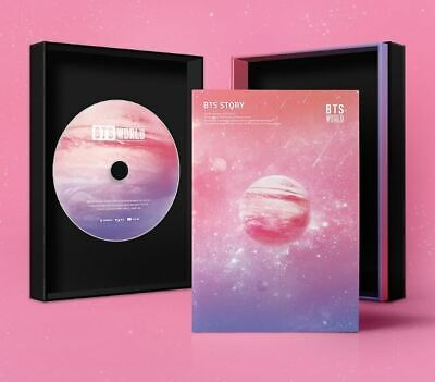Poster in Tube [ BTS WORLD OST ] CD + Photocard + Lenticular + Game coupon