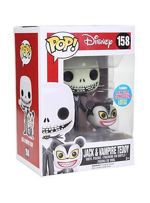 Disney Funko Pop Nightmare Before Christmas Jack Vampire Teddy NYCC Exclusive LE