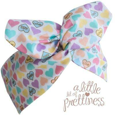 Wired Headscarf 40s 50s Vitnage Pinup Couture Headband Sweetheart Candy Hearts