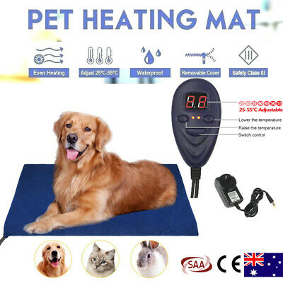Waterproof Electric Pet Heating Pad Dogs Cats Warming Mat with Auto Power Off