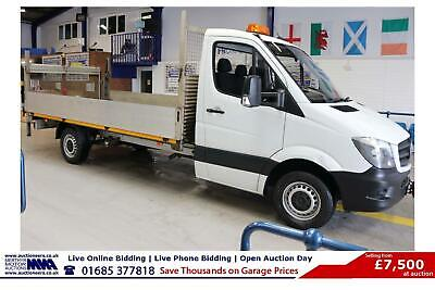 2015 - 15 - Mercedes Sprinter 313 2.2Cdi Lwb Dropside C/W Tail Lift
