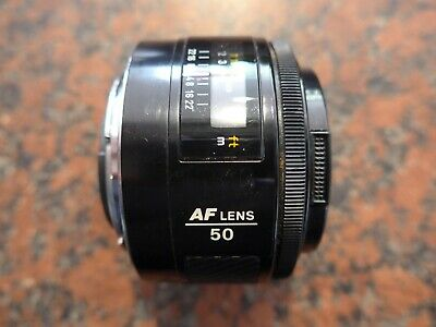 Sony/Minolta A mount AF 50MM F1.7 LENS for Sony Alpha. good condition
