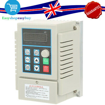 0.45kW 220V 2.5A VFD VARIABLE FREQUENCY DRIVE INVERTER PWM CONTROL CE QUALITY