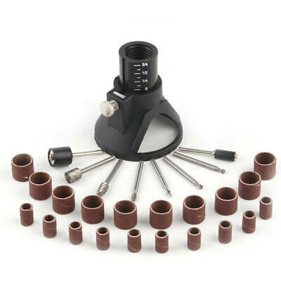 29x Rotary Power Tool Accessories for Grinding Drill Bits Set Woodworking Kit