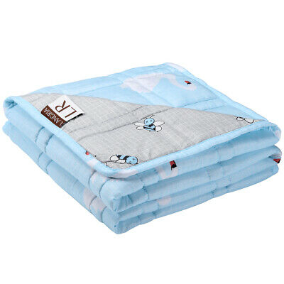 """Weighted Blanket For Kids Cool Heavy Blanket Deep Relax Sleeping 48""""x36"""" 5 IBS"""