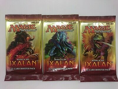 Ixalan 6 Booster Packs Six 6x  SEALED MTG Magic the Gathering NEW kaartspellen Verzamelingen
