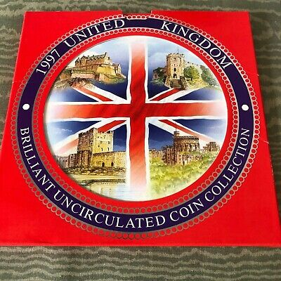 1997 UK United Kingdom Uncirculated Coin Collection Set
