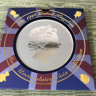 1998 UK United Kingdom Uncirculated Coin Collection Set