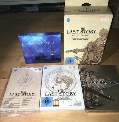 The Last Story Limited Edition Wii Fantastic Condition Nintendo PAL Pegi 16
