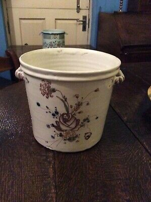 18TH CENTURY FRENCH FAIENCE WINE COOLER 'SEAU A BOUTEILLE' CIRCA 1730's...