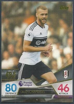 Topps Match Attax Ultimate 2018-19-#041-Fulham-Callum Chambers