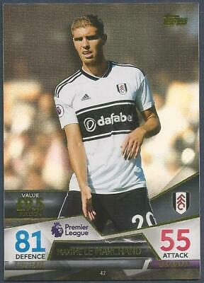 Topps Match Attax Ultimate 2018-19-#042-Fulham-Maxime Le Marchand