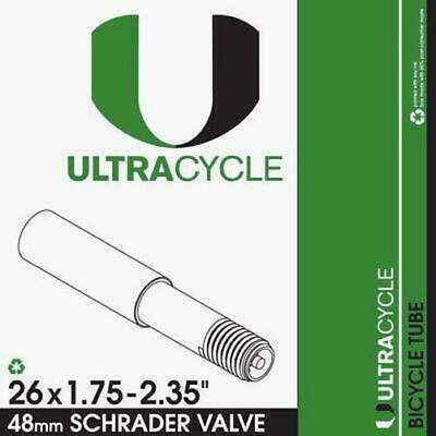 Ultracycle Bicycle Tube 26 x 4.5-4.8 Presta 33mm