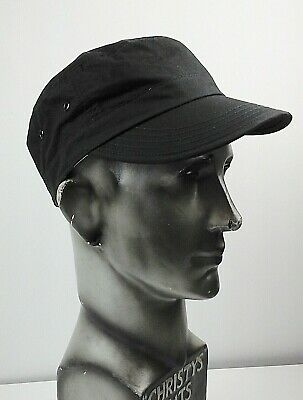 59e7f308 Failsworth Men's Dry Wax Military Cap, Black, One Size. New with Tags.