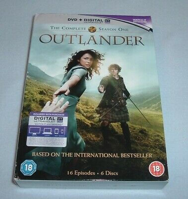 Outlander  Season One   Volumes One & Two  ( DVD 2015 )