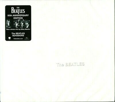 The Beatles ‎– The Beatles Sessions 2CD (white album) 2018 [brand new]