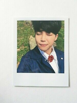 "K-Pop Bts Album ""In The Mood For Love Young Forever"" Official Jimin Photocard"