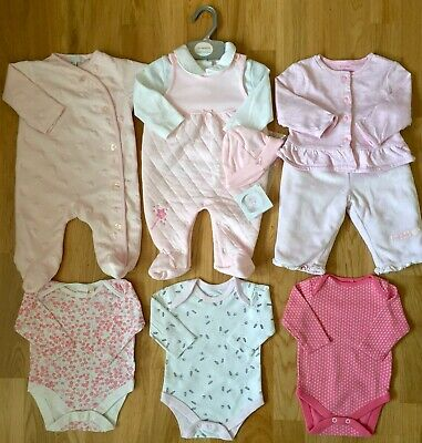 🎀Lovely Baby Girl Clothes Bundle 0-3 Months & 1 New Outfit With Tags🎀
