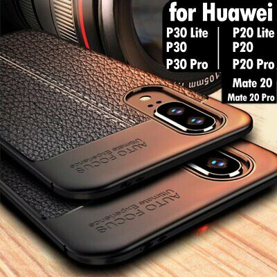 For Huawei P30 P20 Mate 20 Pro Lite New Leather Pattern Soft Slim Case Cover UK