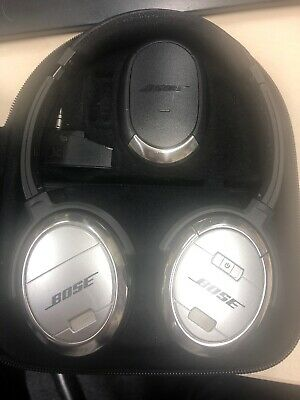 Bose QuietComfort 3 Noise-Cancelling Headphones Black and Silver