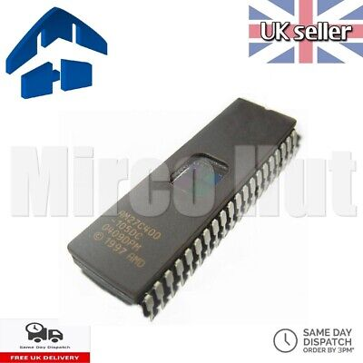 1//2//3 5pcs AMD 27C400 AM27C400-120DC UV EPROM DIP-40  X