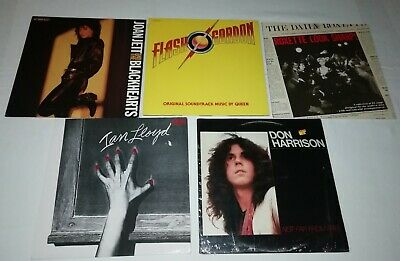 Lotto 5 vinili/ LP 33 Giri ROXETTE - QUEEN - JOAN JETT  - IAN LLOYD