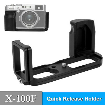 For Fuji X 100F Mirrorless Camera QR L Plate Bracket Camera Grip Camera Holder