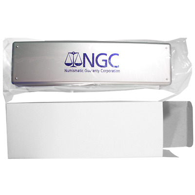 NGC Silver Storage Box for 20 Individual Certified Coins Brand New