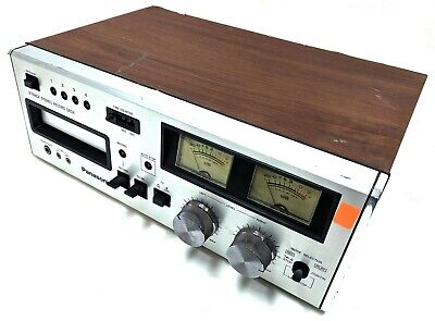 Vintage Panasonic RS-808 8-Track Stereo Tape Deck Player Recorder Japan AS-IS