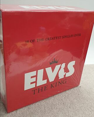 Elvis Presley - The King 18 Of The Greatest Singles Ever - Lp Single Boxset 2007