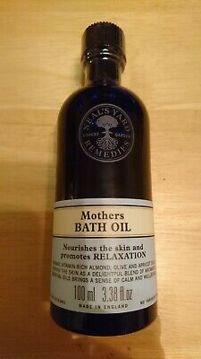 Neal's Yard Remedies Mothers Bath Oil - Sealed, 100ml BBE 05/19