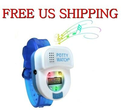 Blue Kid Child Toddler Blinking Light Music Potty Time Watch Toilet Training Aid