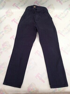 Next Boys Navy Blue Trousers - Age 7 - 122 - Ex Con - More Available