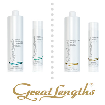 Great Lengths Daily Shampoing & 60 Second Conditionneur & Extension 250ml 1
