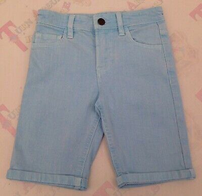 Bluezoo Boys Bright Pale Blue Shorts - Age 7 - Ex Con - More Available