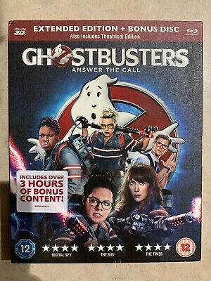 GHOSTBUSTERS (3D) & Blu-Ray (Uk Import)
