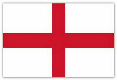 England Flag St George Cross Flags English Cricket Football Rugby Day 5FT X 3FT.
