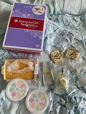 "AMERICAN GIRL 18/"" DOLL FOOD FIESTA PICNIC Set NIB Retired 2008"