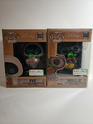 Funko Pop! Disney Wall-E & EVE Earth Day Set Box Lunch Exclusive 400 552